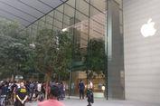 Antrean Panjang di Apple Store Pertama di Asia Tenggara demi Selembar Kaos