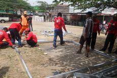 Pasukan Merah Rekrutan Dinas Perumahan DKI Masih Jalani Pelatihan