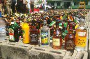 'Black Label' hingga 'Topi Miring' Dimusnahkan di Mapolres Jaksel