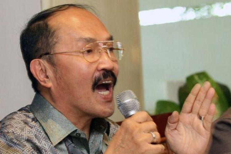 Kuasa hukum Ketua DPR dan Ketua Umum Partai Golkar Setya Novanto, Fredrich Yunadi.