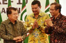 Saat Wakil Presiden Saling Berbalas Pantun dengan Gubernur Sumut