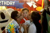 Raffi Ahmad Naik Helikopter ke Pesta Ulang Tahun Rafathar