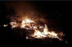 Kebakaran Hanguskan Lima Rumah di Bima