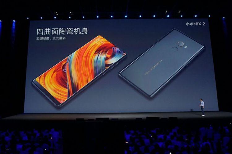 Xiaomi Resmikan Smartphone Tanpa Bingkai Mi Mix 2