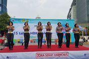 Kampanye Keselamatan Berlalu Lintas, Polwan Bernyanyi Dangdut di 'Car Free Day'