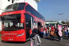 Asyik! Wisatawan Gratis Keliling Kota Semarang dengan Bus Tingkat