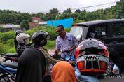 Sosialisasi Pilgub NTT, KPU Kota Kupang Bagi-bagi Brosur