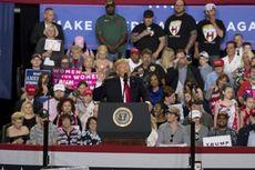 100 Hari Jadi Presiden, Trump Puji Diri Sendiri di Muka Pendukungnya