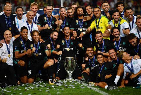Hasil Piala Super Eropa: Kalahkan Man United, Real Madrid Juara