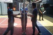 Napi Teroris Ikuti Lomba Pengibar Bendera HUT RI ke-72
