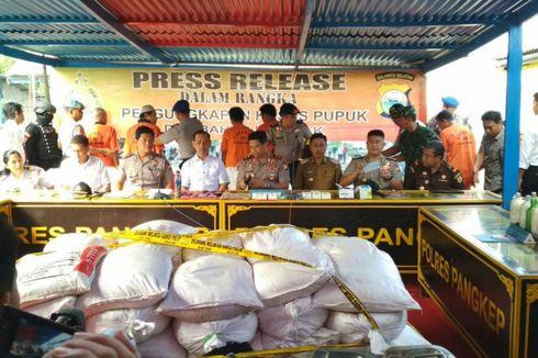 Polisi Sita 3 Ton Bahan Peledak dari 15 Pelaku di Sulawesi Selatan