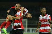 Hasil Liga 1, Madura United Gagal Geser Persipura setelah Ditahan Borneo FC