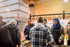 Warga Muslim Indonesia di Melbourne Bagikan Makanan untuk Tunawisa