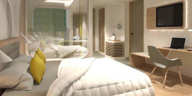 Grand Orange Kuta Beach Hotel berusaha menangkap potensi investasi hotel bintang empat dari keramaian wisatawan di Pantai Kuta.