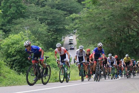 Raja Tanjakan Asal Spanyol Juarai Etape Ketiga Tour de Moluccas