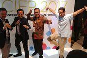 Di Acara Konferensi Internasional, Sandiaga Kembali Berfoto Gaya 'Jurus Bangau'