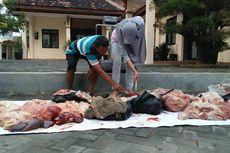 Lagi, Ratusan Kilogram Daging Sapi Gelonggongan Disita di Grobogan