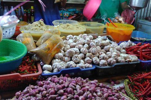 Harga Bawang Putih di Jakarta Bervariatif