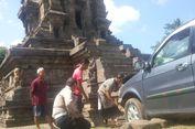 Viral Mobil Tabrak Candi Kidal, Polisi Sebut Sopir Alami Halusinasi