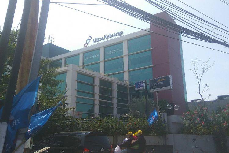 RS Mitra Keluarga Kalideres, Jakarta Barat.