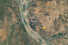 Banjir Landa Myanmar, Pagoda Pun Hancur Terbawa Arus Air