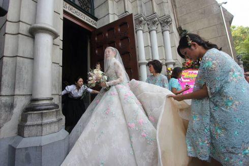Olga Lydia Gugup di Hari Pernikahan