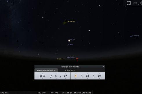 Malam Awal Ramadhan 2017, Langit Akan Menampakkan Ini
