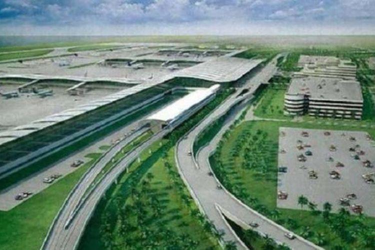 Masterplan bandara baru Yogyakarta di Kulon Progo.