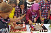 Rayakan Ultah Jokowi-Ahok di Kalijodo, Ada Kue Monas dan Ondel-ondel