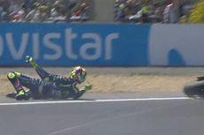 Drama Le Mans, Rossi Terjatuh di Lap Terakhir