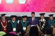 Jokowi Hadiri Pengukuhan Maruf Amin sebagai Guru Besar UIN Malang