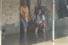 Rumah Warga Sukadana OKI Terendam Banjir Diduga Akibat Proyek Tol