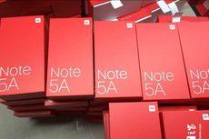 Xiaomi Redmi Note 5A Bocor lewat Kotak Penjualan