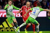 Hasil Liga Jerman, Robben Samai Rekor tapi Bayern Seri di Kandang