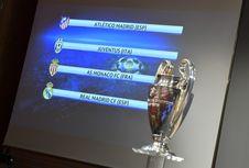 Jadwal Siaran Langsung Liga Champions, Malam Ini AS Monaco Vs Juventus