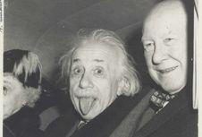 Foto Ikonis Einstein 'Melet' Laku Rp 1,7 Miliar