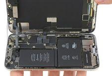 Dibongkar, iPhone X Ketahuan Punya 2 Baterai