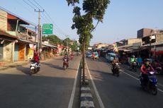 Senin Pagi, Lalu Lintas Jalan Dewi Sartika dan Sekitarnya Lancar