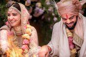 Anushka Sharma Menikah dengan Kapten Kriket Virat Kohli di Italia