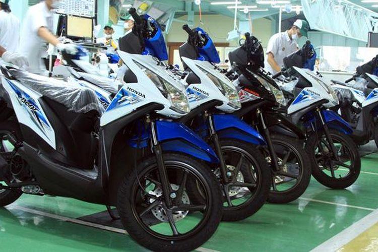 Honda BeAT menjadi sepeda motor jenis skutik paling laku di dunia.