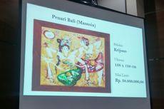Lukisan Mahal Terpidana Suap Reklamasi M Sanusi Ikut Dilelang KPK