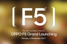 Oppo F5 Dirilis, Simak