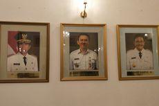 Foto Djarot Dipasang Sejajar dengan Jokowi dan Ahok di Balai Kota
