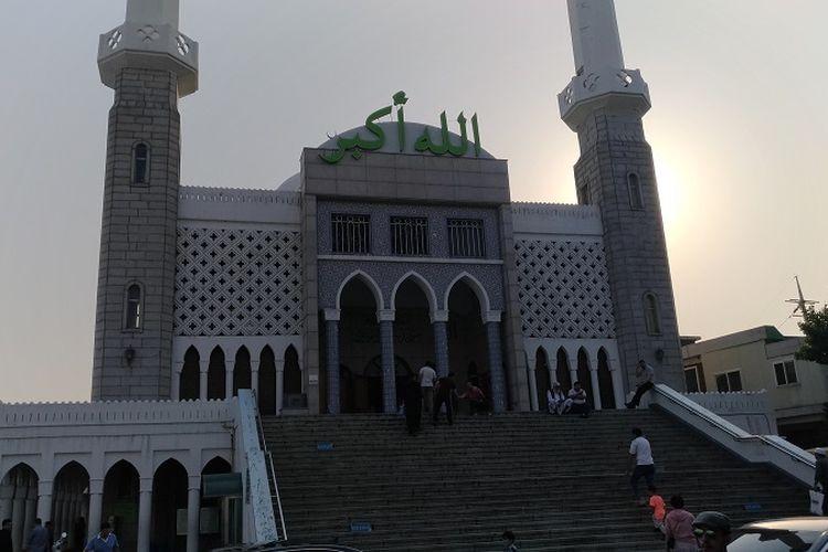 Masjid Seoul Islamic Center di wilayah Itaewon-dong di Korea Selatan, saat didatangi Kompas.com, Minggu (28/5/2017).