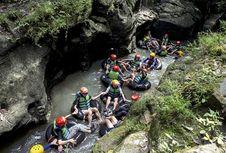 Menikmati Wisata Sungai Ala Karst Tubing