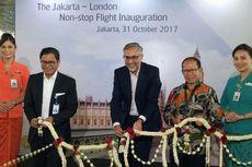 Garuda Indonesia Resmikan Penerbangan Langsung Jakarta-London