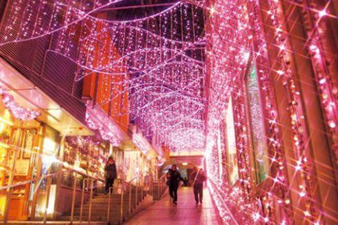 Indahnya Warna-warni Iluminasi di Pusat Kota Tokyo
