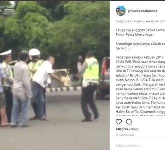 Lagi, Polisi dan Pengguna Jalan Terlibat Cekcok