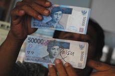 Waspada, Uang Palsu Beredar di 6 Provinsi, Terbesar di Jakarta