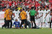 Sempat Ditandu Keluar Lapangan, Kiper Indonesia Mulai Membaik